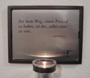 """Licht & Poesie """"Freund"""""""