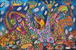 afrikanische Karten